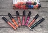 al por mayor el envío más barato-El más nuevo más barato barato más nuevo 30Colors Cosméticos del maquillaje Kylie Lip Gloss de Kylie Jenner Matte Liquid Kylie Único Lipgloss DHL Free Shipping