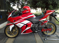 Wholesale New Injection ABS Fairing kits windscreen Fit For Kawasaki Ninja R EX250 body white black red