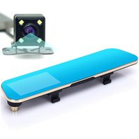arm navigator - 2016 Newest Car Camera Car Dvr Blue Review Mirror Digital Video Recorder Auto Navigator Registrator Camcorder Full HD P Dvrs