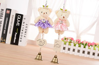 Wholesale Plush bear bells Creative household doll baby bells hang hang act the role ofing car dormitory door ornaments