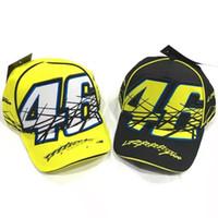 Wholesale Hot Latest motor GP Racing Cap MotocrossWomen Men Casual Adujustable Hat Baseball Cap Motorcycle Snapback Hat