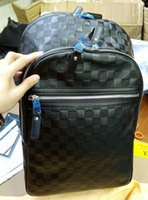 backpacks pictures - Real pictures shows Classic Black N41330 Backpack Style school bags brand top grade Genuine Leather backpack quality
