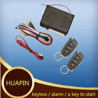 Wholesale Hot sales Car Remote start Central Lock Keyless Entry System with Remote Folding Flip Key Keyless Entry Transmitter Controllers