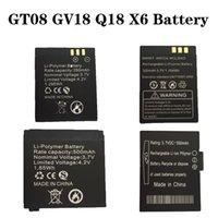 Wholesale GT08 GV18 Q18 X6 Battery