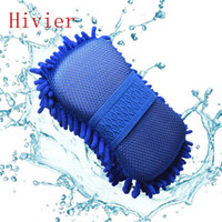 auto detailing supplies - New Real Microfiber Car Washer Cleaning Care Detailing Brushes Washing Towel Auto Gloves Styling Supplies Accessories