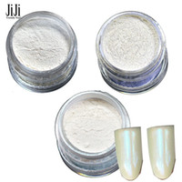 Wholesale Bottle New Mermaid Effect Glitter powder With Brushes Nail Art Magic Glimmer Powder Women Nails DIY Decoration ND262