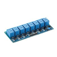 avr stock - 5V Eight Channel Relay Module With Optocoupler For Arduino PIC AVR DSP ARM Quality In Stock
