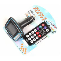 Wholesale Inch CSTN Screen Display Car MP3 Player MP4 With Built in Wireless FM Stereo Transmitter SD Card