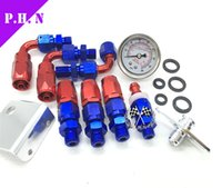 Wholesale GS Aerom tive Adjustable Fuel Pressure Regulator Kit with psi oil Gauge Oil Cooler Kit GS B stocked ready to ship
