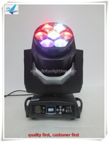 12Xlot dj équipement b-eye led tête de tête en mouvement rgbw 4in1 tête de tête mobile 7x15w zoom