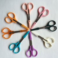 artist supply manufacturers - Manufacturers selling office supplies stainless steel household scissors artist cut plastic handle pointed scissors