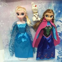 Wholesale The new frozen Essar Anna Princess Snow doll toy doll frozen quantities