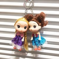 baby giving birth - 2016 new confused doll Keychain hanging bag birthday gift creative toy cute novelty give children the best gift