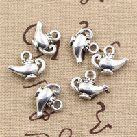 aladdin crafts - Charms aladdin magic lamp genie mm handmade Craft pendant making fit Vintage Tibetan Silver DIY for bracelet necklace