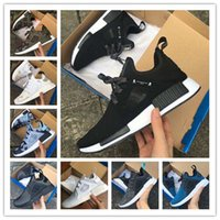 Wholesale With Box NMD XR1 x Mastermind Japan Skull Men s Casual Running Shoes for Original quality Black Red White Boost Fashion Sneakers EUR