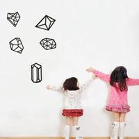 Fond d'écran Estrella Polyhedro Série Géométrique Motif Produits Décoration intérieure Stickers muraux Décoration de mode simple Livraison gratuite