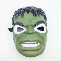 La máscara de los vengadores Máscara de superhéroe Hombre araña Hulk Capitán América Batman Máscaras del hombre de hierro Máscara de fiesta Navidad Halloween Niños Regalos de los chicos