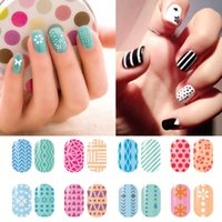 beauty tips models - 1Sheet type Fashion Different Nail Art Model French Style Seal Tip Beauty Decals Hollow Out Nail Stickers Stencil Decor L3