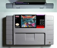 Wholesale SNES Game card RPG Game Battery Save Dragon Quest III