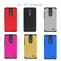 boost phones - Armor case For ZTE Grand X4 Z956 Tempo N9131 boost For Google Pixel XL W4100 Marlin Silicone Phone Hybrid Hard Plastic TPU Case
