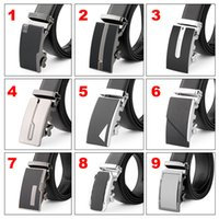 Wholesale New Arrival Design Men Business Casual Alloy Automatic or Needle Buckle Fashine Men Leather Belt Buckle Luxury and Elegant Buckle