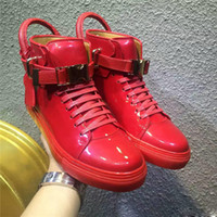 best man help - 2017 High Tide to help Lock Leisure Shoes Full Leather Luxury Brand Casual Sneaker size best quality