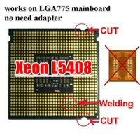 Wholesale Intel Xeon L5408 Processor GHz M Mhz Works on LGA775 mainboard no need adapter