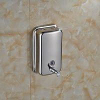 Wholesale Manual Hand Soap Dispenser Washroom S Steel Liquid Soap Dispenser ML