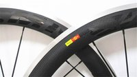 aluminum or carbon road bike - Carbon Wheels Aluminum mm Alloy brake surface clincher width Carbon fiber T700c wheel rim glassy or matte K