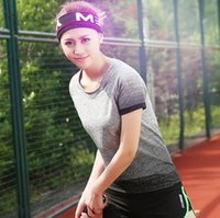 active ladies clothes - Newest Women s Short sleeve Summer Sport Fitness Yoga Gym Quick drying T shirt Clothes Sports Tennis Lady Girl Shirt Clothes