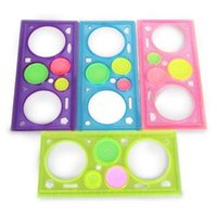 Wholesale New Spiral Art Tool Spirograph Ruler Funny Gift Creative Drawing Set toy rulers Newsest