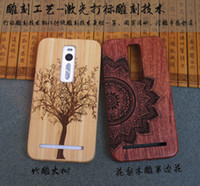 asus bamboo - China Factory Wood Phone Case For ASUS Zenfone ZE551ML inch Luxury Carving Wooden Bamboo Mobile Phone Cover Hard Cases