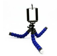 Wholesale phone Camera Tripods Octopus Flexible Tripod Stand with Smartphone Holder Mount Bracket Adapter for Smartphone gopro Camera