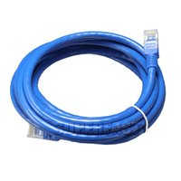 Wholesale CAT6E M Ft High speed Network Cables M Ft M Ft Male to Male LAN Cables M Ft Ethernet Cores For Computer Router with OPP Package