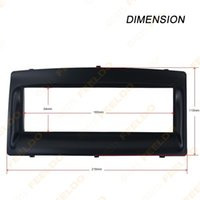 Wholesale Car DVD Radio Stereo Trim Panel Fascia Frame Kit For BYD F3 DIN Stereo
