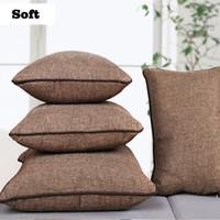 Wholesale Set Covers For Sofa Cushions - Outdoor Office Large Cushions Covers For Sofa Pillows Dekorative Kissen Almofada Pouf Decorative Pillowcase Sofa Set 701736