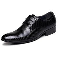 basic knots - Business Men s Basic Flat Shoes Wedding Dress Shoes Formal Wearing Shoes British Men Casual Office Shoes