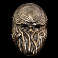 antique collectors - The Halloween Mask Collector about Harvest day2 Chapter series with Cosplay Resin Color Bronze antique silver Mask