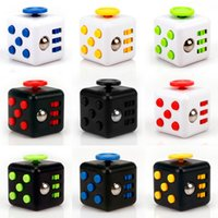Wholesale 3 Fidget Cube Relieves Stress And Anxiety for Children and Adults Anxiety Attention Toy Hand Spinner Fidget Toys