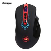 0 origin pcs - High Quality Redragon ORIGIN M903 Optical DPI Professional USB Wired Optical Buttons Self defining Gaming Mouse for PC