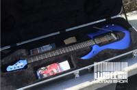 Wholesale Music Man Petrucci MAJESTY Sapphire Blue JP6 JPX set in body Ebony fretboard strings HH Active pickups best quality