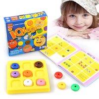 Classique IQ Puzzle créatif Brain Teaser Kids Logic Jeu éducatif Puzzles Jeu Jouets pour enfants Adultes