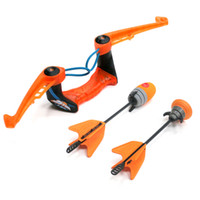 air storm - Zing Air Storm Fire Tek Bow Green Orange Size cm With Soft Arrows Safety Kids Boys Girls Outdoor Sport Toys