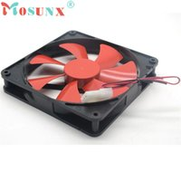 best computer cooling - NEW Mecall Best silent quiet mm pc case cooling fans cm DC V D plug computer cooler Oct20