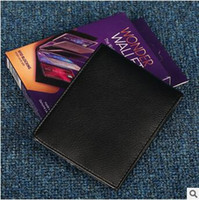 Wholesale New Wonder Wallet Amazing Slim RFID Wallets Black Genuine Leather Card Casual Plain Traveling With Retail Package CCA5668