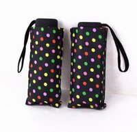 Wholesale New Fashion Cute Super Mini Lightweight Folding Windproof Waterproof Personal Rain Sun Umbrella for Men Women Kids