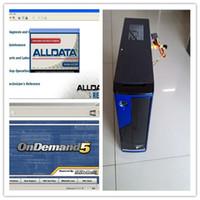 auto computer repair - 2016 auto repair software Alldata Mitchell on demand diagnostic software with MINI Desktop Computer Laptop Plus TB HDD
