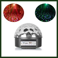 activate speakers - LED Disco Ball Stage lighting with bluetooth Speaker Auto Voice Activated function MP3 player Remote control