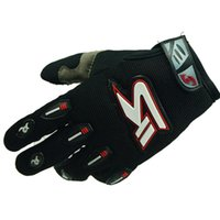 Wholesale Winter Fashionable Motorcycle Hand Protection Gloves Black Red White Size L Pair