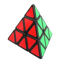 Wholesale Shengshou Pyramid Shape Magic Cubes Ultra smooth Speed Magico Cubo Twist Puzzle DIY Educational Toy for Children Kids Colors
